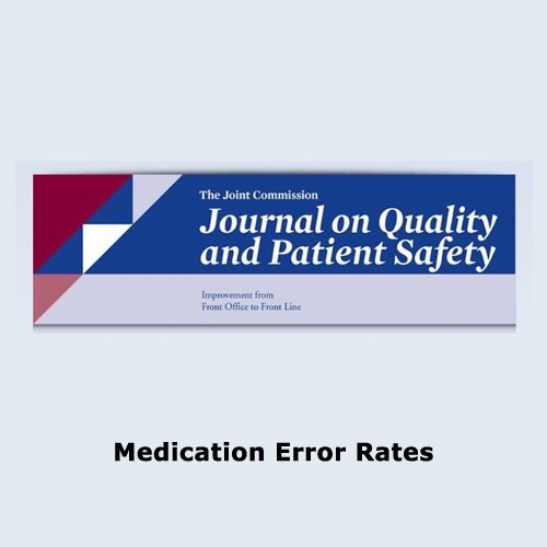 Medication Error Rates